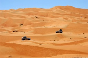 Oman dune del deserto