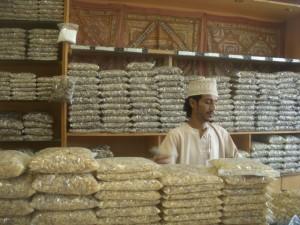 venditore d'incenso a salalah