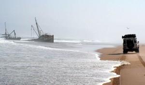 Angola, peschrecci nella costa