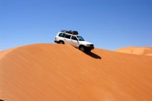 fuoristrada sulle dune