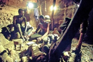 case dei Gurunsi, Burkina Faso