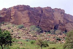 Mali, villaggio falesia