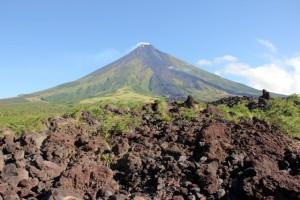 vulcano Mayon, isola Luzon