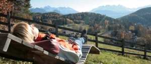 relax nelle Dolomiti