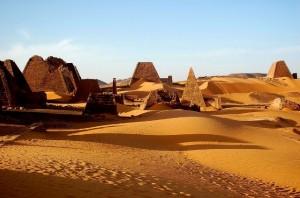 Sudan, Piramidi di Meroe