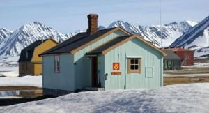 case tipiche alle Svalbard
