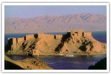 Castello di Saladin sull'isola di Far