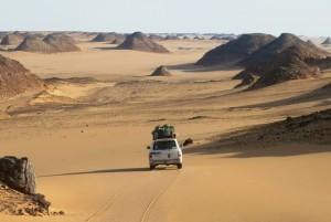 il silenzio del deserto occidentale del Sudan