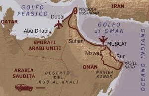 da Muscat a Dubai con Viaggi Levi