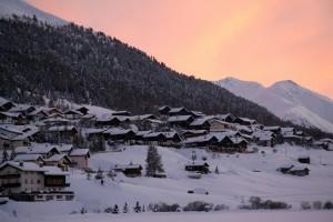 tramonto a Livigno