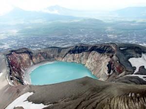 vulcano cratere Kamchatka