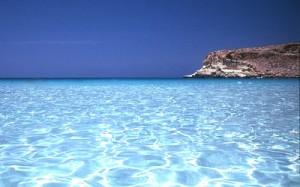 acque cristalline di Lampedusa