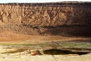 Al Atrun, cratere abitato, foto Carla Piazza