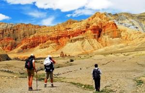 trekking Nepal Mustang