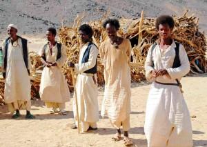 nomadi beja, Sudan