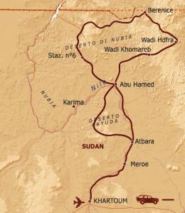 spedizione deserto Sudan Viaggi Levi