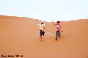 Luca e Elena in Marocco, Gaetano Gianzi per FotOOppostE