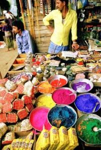 Kerala, i colori del mercato