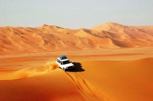 Oman, in fuoristrada nel Rub al Khali