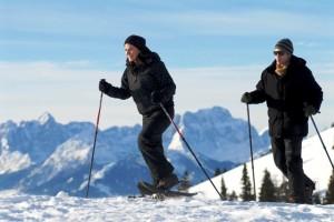 con le ciaspole sul Monte Dobratsch