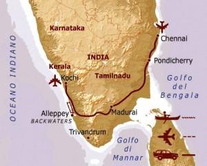 viaggio in Kerala e Tamil Nadu