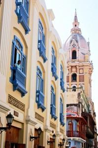 Cartaghena, strade