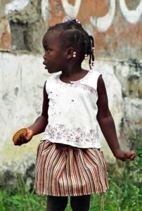 bimbi di Sao Tome
