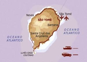 itinerario Sao Tomè, www.viaggilevi.com