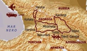 itinerario Georgia I Viaggi di Maurizio Levi