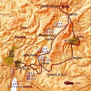 itinerario in Etiopia