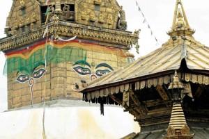 Nepal, Bonat temple