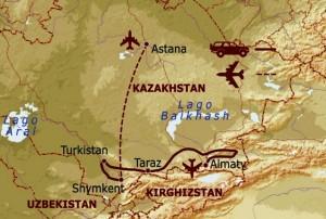 viaggio in Kazakhstan