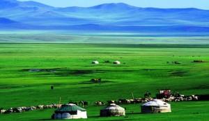Mongolia paesaggio