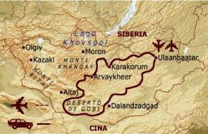 deserto Mongolia