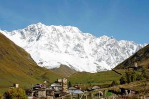 Georgia, Ushguli e Monte Shkara