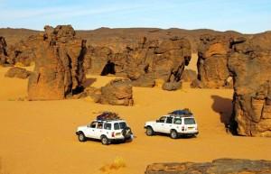 Algeria in fuoristrada, Viaggi Levi