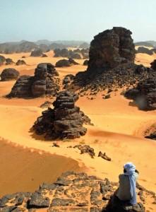 deserto dell'Algeria, Viaggi Levi