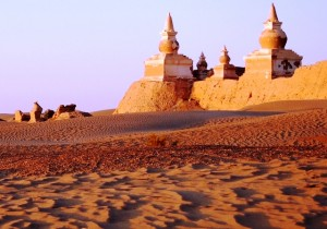 CINA, Mongolia interna - La città morta di Khara Khoto