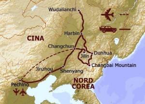 Itinerario Cina Manciuria, Viaggi Levi