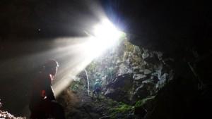pulizia grotta coppa di Mezzo, Puglia