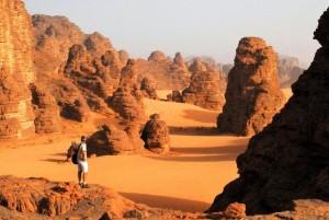 Algeria deserto, Viaggi Levi