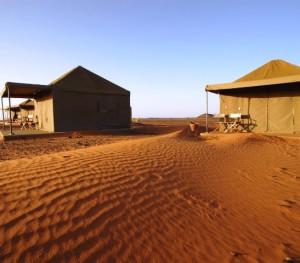Sudan Campo tendato di Meroe