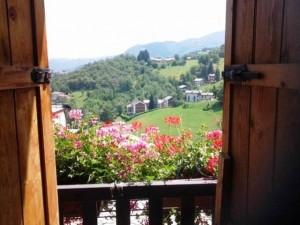 camera con vista Hotel Miramonti